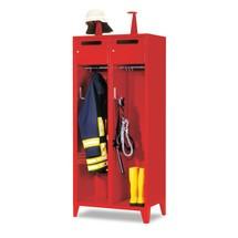 Armoire incendie PAVOY avec pieds + cadre porte-étiquette