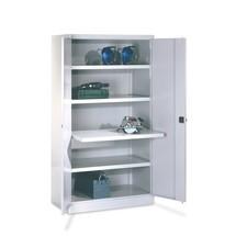 Armoire pour charges lourdes PAVOY Premium, 3tablettes + tiroirs 1x75 + 1x125 + 1x175mm