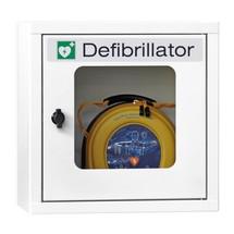 Armoire pour défibrillateur sans alarme