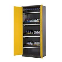 Armoire pour produits chimiques et toxiques asecos® avec tablettes extractibles, HxlxP 1950 x 810 x 520 mm