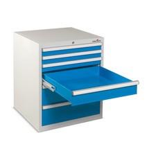 Armário de 6 a 8 gavetas Steinbock®, diferentes tamanhos e com 140 Kg de capacidade de carga por gaveta.