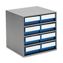 Armário de gavetas, 8 gavetas