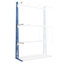 Armtrenner für Vertikalregale einseitig / doppelseitig