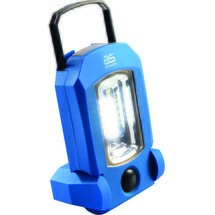 as-Schwabe Akku-Handlampe COB-LED +4 LED