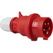 as-Schwabe CEE-Phasenwenderstecker 400V, rot