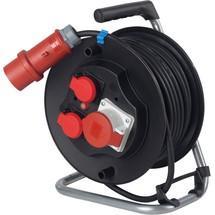 as-Schwabe CEE-Sicherheits-Kabeltrommel IP44, schwere Gummischlauchleitung
