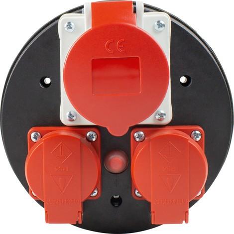 as-Schwabe CEE-Steckdoseneinsatz 400 V komplett