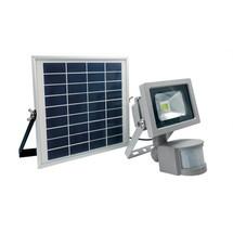 as-Schwabe CHIP-LED-Strahler 10W mit Solarmodul