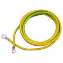 as-Schwabe Erdungskabel 3m, gelb/grün