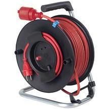 as-Schwabe Sicherheits-Gerätetrommel IP44, schwere Gummischlauchleitung