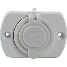 as-Schwabe USB 2fach Einbaudose Caravan