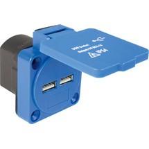 as-Schwabe USB Anbausteckdose