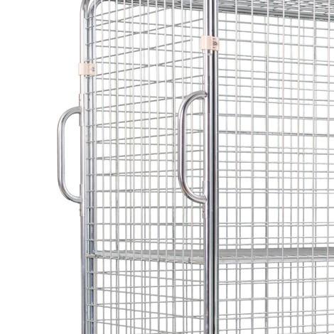 Asas para contenedores rodantes de acero de medidas europeas