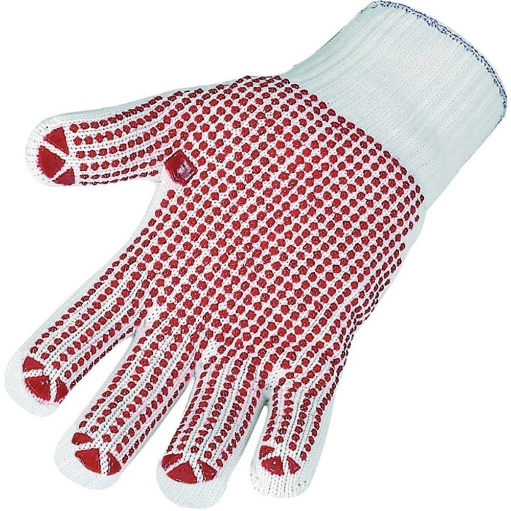 ASATEX Handschuhe, rot, EN 388 PSA-Kategorie II, Baumwolle (innen)/Polyamid (außen)