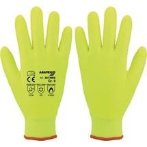 ASATEX Kälteschutzhandschuh, gelb, EN 388, EN 407, EN 511 PSA-Kategorie II Polyacryl/Nitril 6 Paar