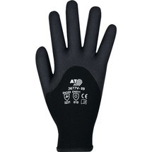 ASATEX Kälteschutzhandschuhe, schwarz, EN 388, EN 511 PSA-Kategorie II Polyamid mit HPT® Vinyl-Beschichtung