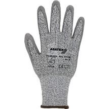 ASATEX Schnittschutzhandschuhe, grau/grau, EN 388 PSA-Kategorie II HDPE mit Polyurethan 10 Paar
