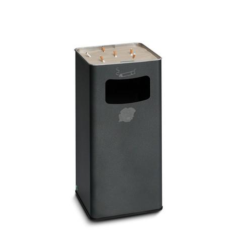 Ascher-Abfall-Kombination VAR®, Standmodell, 53,4 Liter