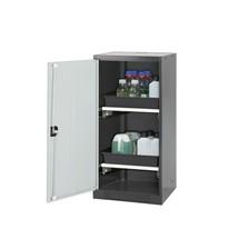 Asecos® szafka chemiczna i trucizna z szufladami, wys. wys. x szer. x gł. 1,105 x 545 x 520 mm