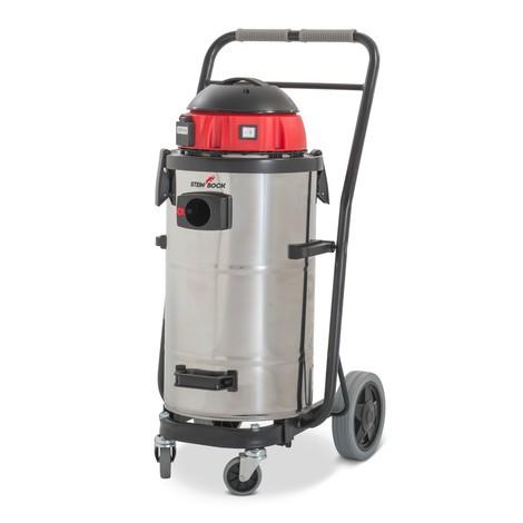 Aspirador de líquidos e sólidos Steinbock® INOX, chassis inclinável