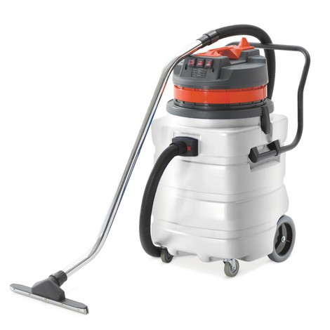 Aspirador industrial BASIC, bastidor inclinable, mojado y seco, 3.000 W