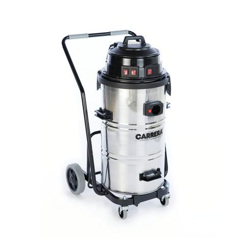 Aspirador industrial CARRERA® 90.03 K, chassis inclinável, líquidos + sólidos, 3240W