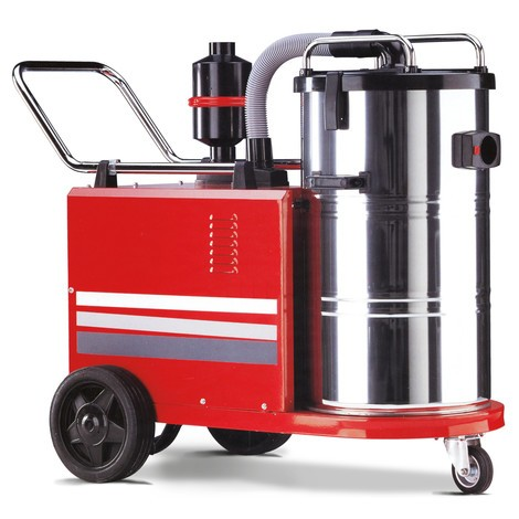 Aspirador industrial CARRERA® P50 para utilização contínuo, molhado e seco, 3.000 W