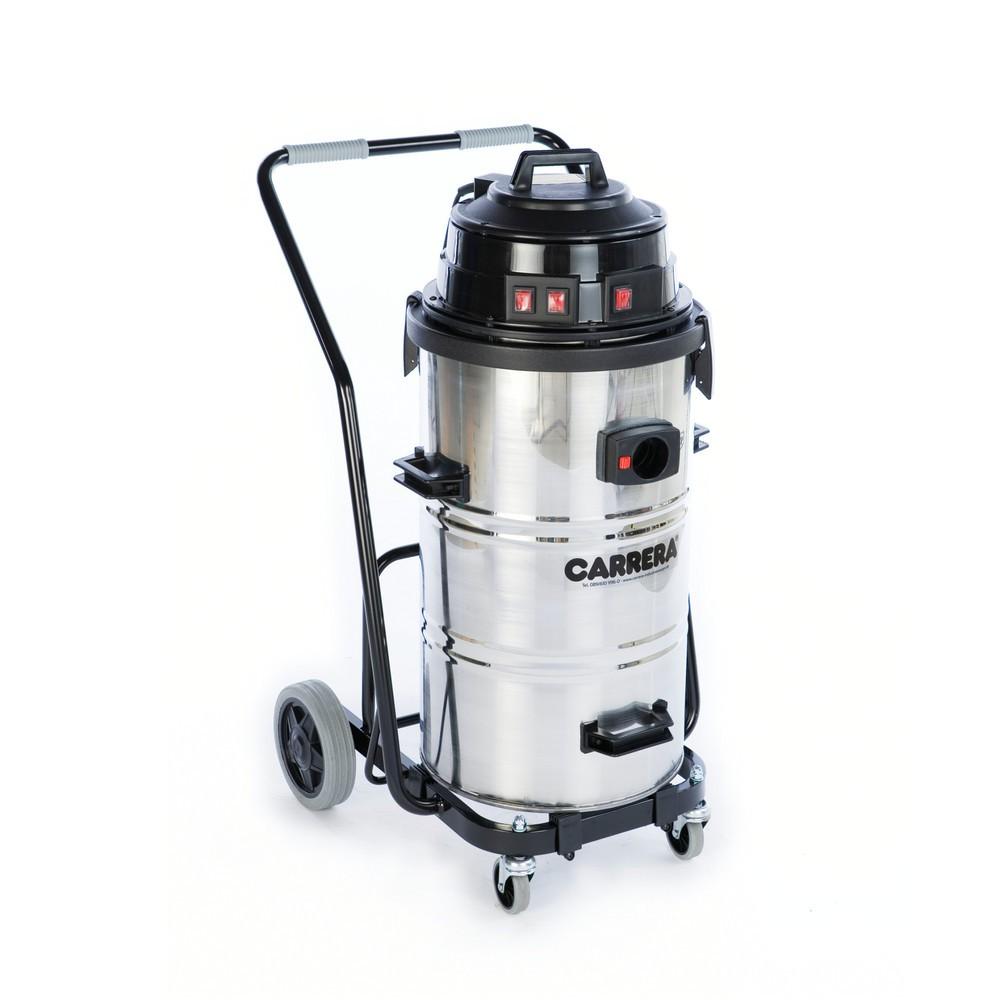 Aspirapolvere industriale CARRERA® 90.03 K, telaio ribaltabile, bagnato e secco, 3.240 W