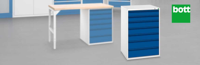 Schubladenschränke im Betrieb | Jungheinrich PROFISHOP