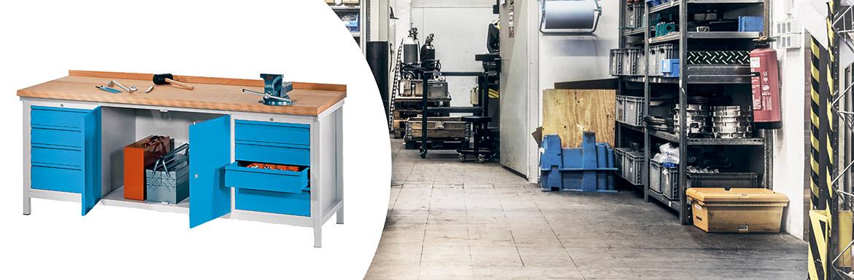 Werkbänke für Handwerk & Betrieb | Jungheinrich PROFISHOP