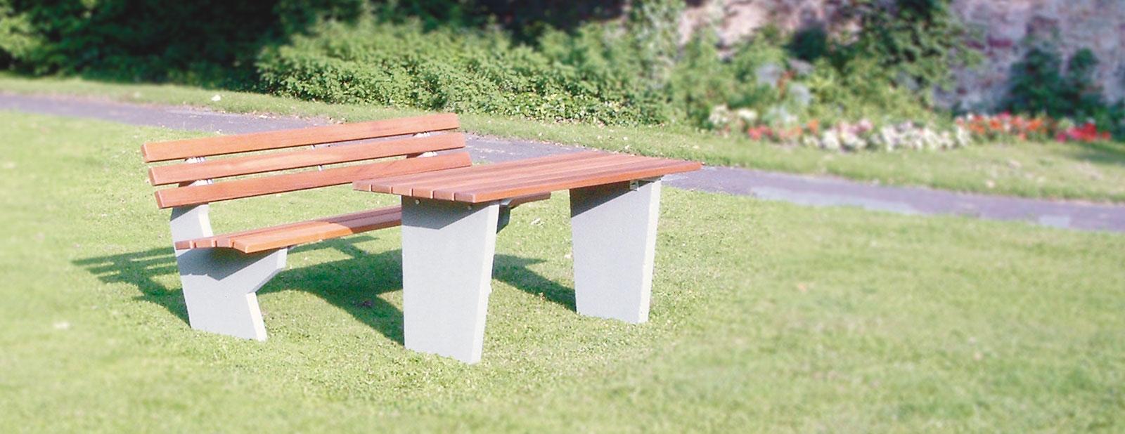 Bänke und Tische für Außen | Jungheinrich PROFISHOP