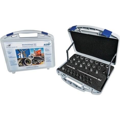 ASW Kraftsteckschlüsselsatz 710 KS 40