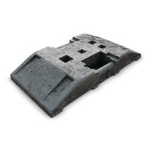 Återvunnen bottenplatta, LxB 800 x 400mm