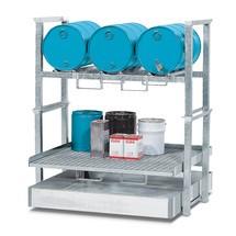Aufbauregal asecos® für Kleingebinde