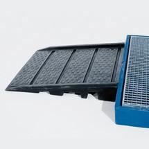 Auffahrrampe asecos®, für PE-Bodenelemente