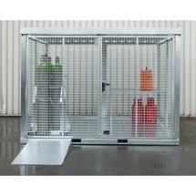 Auffahrrampe für Gasflaschen-Container GFC-E