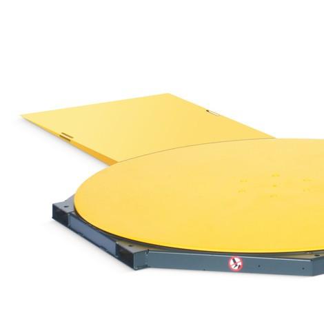 Auffahrrampe für Stretchanlage BASIC und PS OneWrap