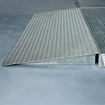 Auffahrrampen Flachwanne, für Seite 500 - 2500mm