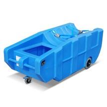 Auffangwanne für 200-Liter-Fass, PE, verfahrbar