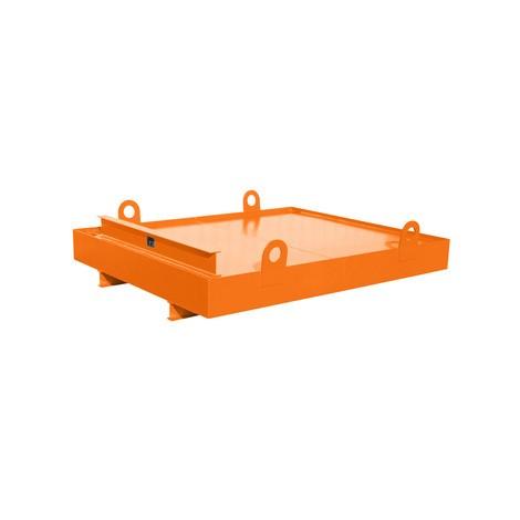 Auffangwanne für Container, HxBxT 560 x 2.300 x 2.030 mm, Auffangvolumen 880 l
