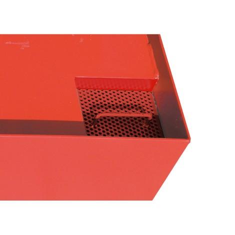 Auffangwanne für Container, HxBxT 560 x 3.300 x 2.030 mm, Auffangvolumen 1.276 l