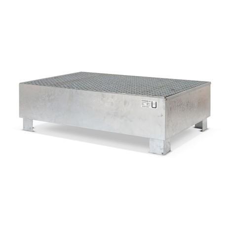 Auffangwanne Steinbock® für 200-Liter-Fässer, inkl. Gitterrost