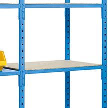 Auflage aus Spanplatte für Fachbodenregal Steck., Tragkraft bis 500 kg pro Boden
