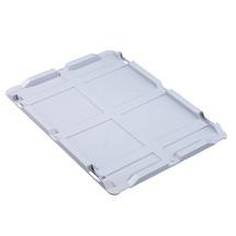 Auflagedeckel, ohne Verschlüsse, für Euro-Stapelbehälter