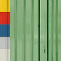 Aufpreis Außenwandlackierung für Umweltcontainer, 2 x 1030 Liter