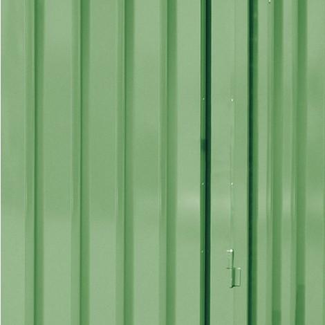 Aufpreis für Außenwandlackierung für Gefahrstoffcontainer WGK 1-3, HxBxT 2.520 x 2.100 x 1.140 mm