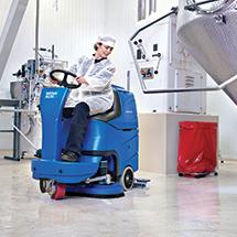 Aufsitz-Scheuersaugmaschine Nilfisk FLOORTEC R Serie