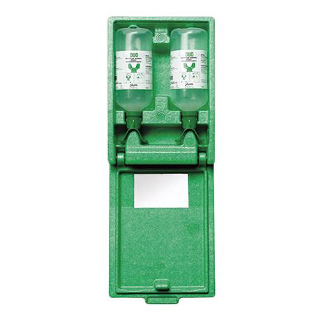 Augenspülstation DUO Wandbox Natriumchlorid-Lösung