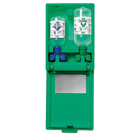 Augenspülstation DUO Wandbox Natriumchlorid- und Phosphatpufferlösung