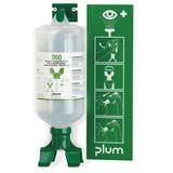 Augenspülstation plum DUO mit Wandhalterung
